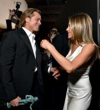 Brad Pitt and Jennifer Aniston  2 Photo by Emma McIntyre Getty Images for Turner.jpg