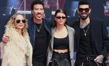 Nicole Richie, Lionel Richie, Sofia Richie and Miles Richie